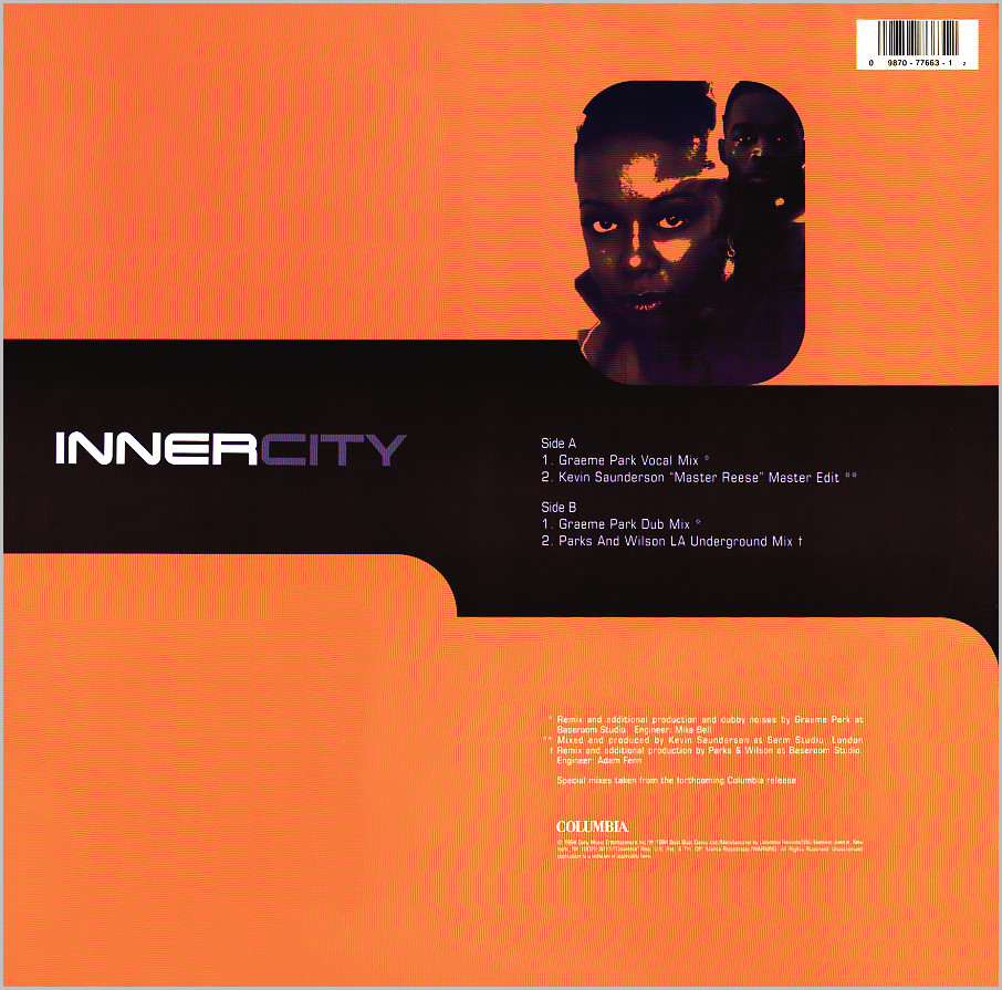 Inner City : Share My Life (Graeme Park)