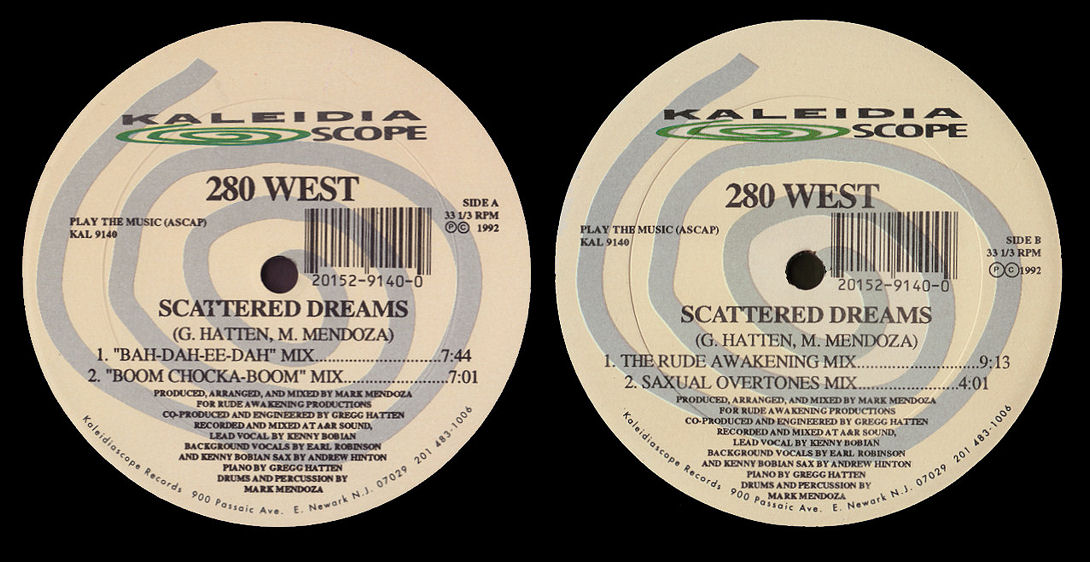 280 West feat. Kenny Bobien : Scattered Dreams (Mark Mendoza)