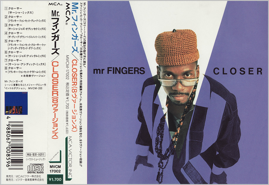 Mr Fingers : Closer (Larry Heard - Sasha - Frankie Foncett)