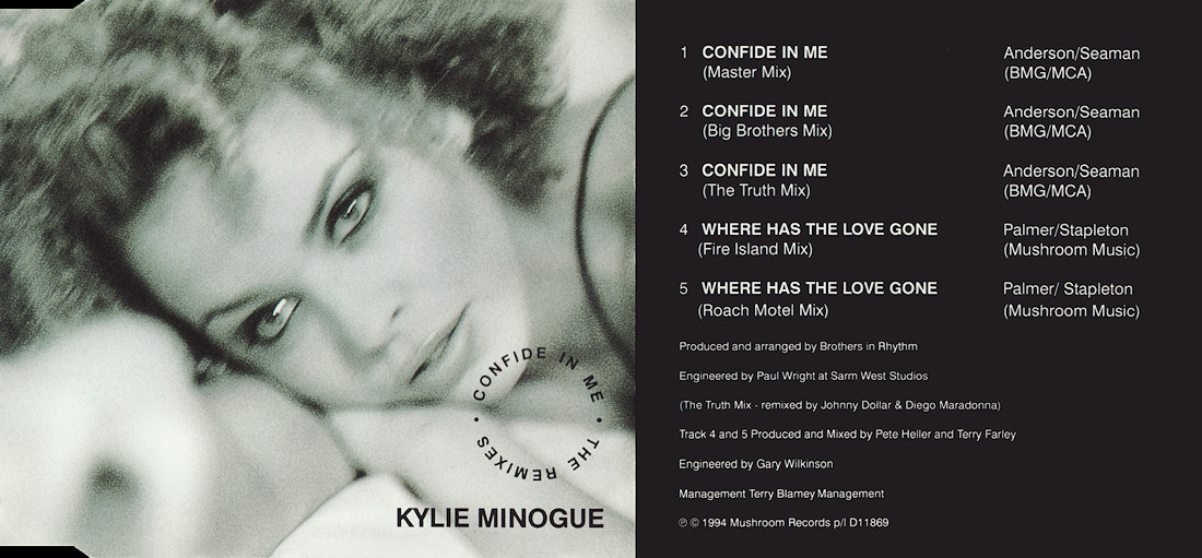 Kylie Minogue : Where Has The Love Gone (Farley & Heller)