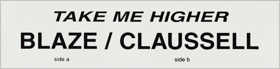 Diana Ross : Take Me Higher (Blaze / Claussell)