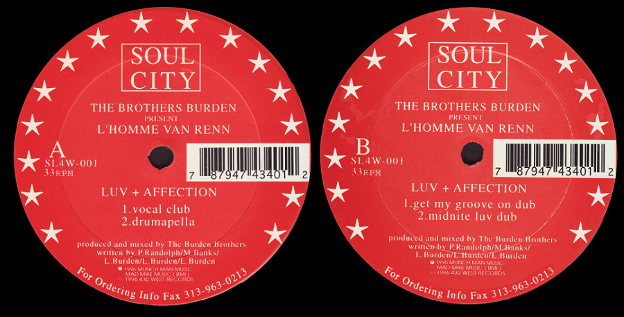 The Brothers Burden : Luv + Affection