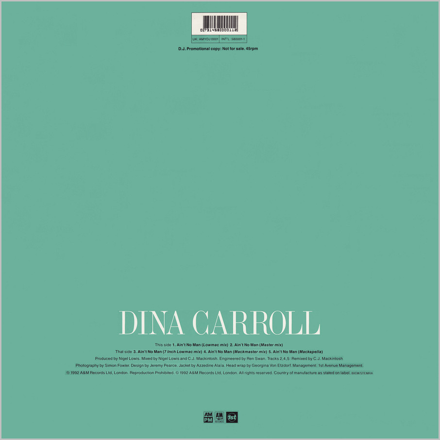Dina Carroll : Ain't No Man