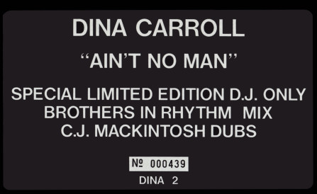 Dina Carroll - Ain't No Man (Limited Edition)