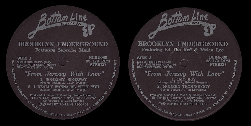 Brooklyn Underground : From New Jerzzey With Love EP (Ed The Red)