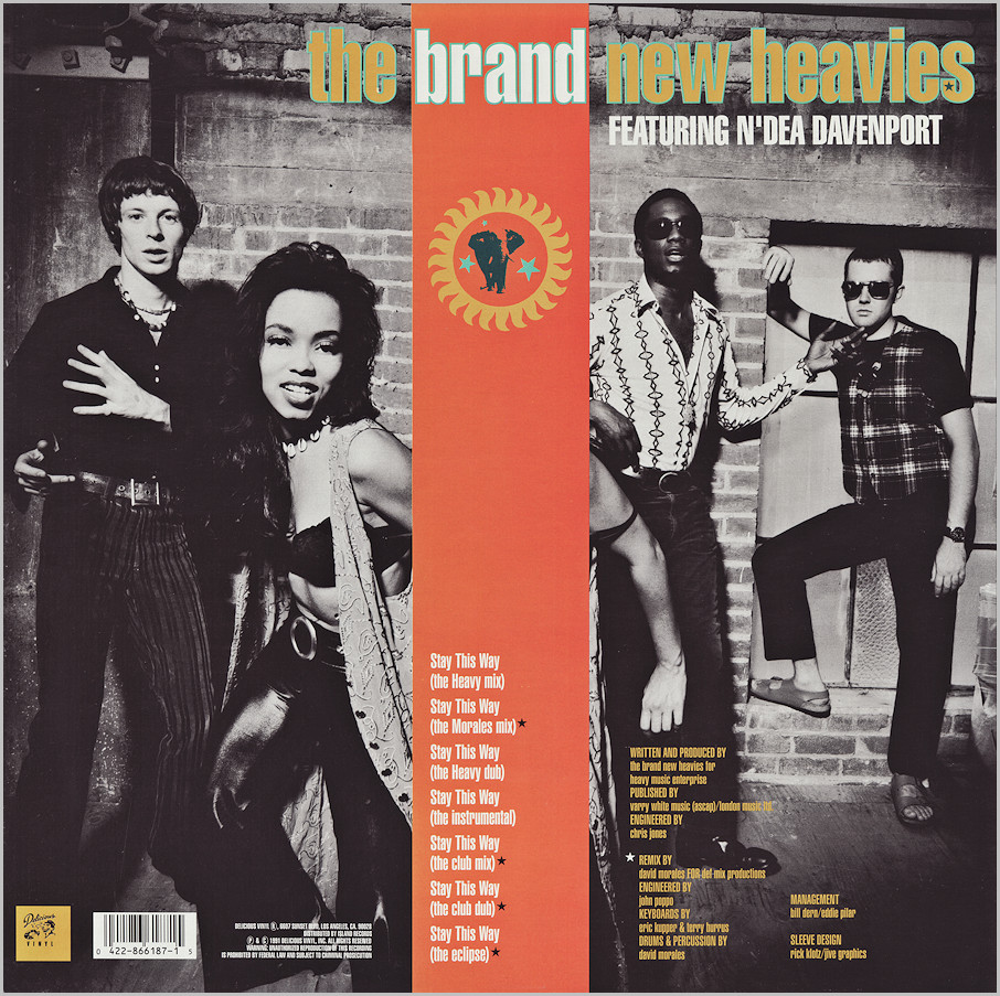 The Brand New Heavies : Stay This Way (David Morales)