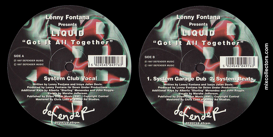Lenny Fontana pres. Liquid : Got It All Together