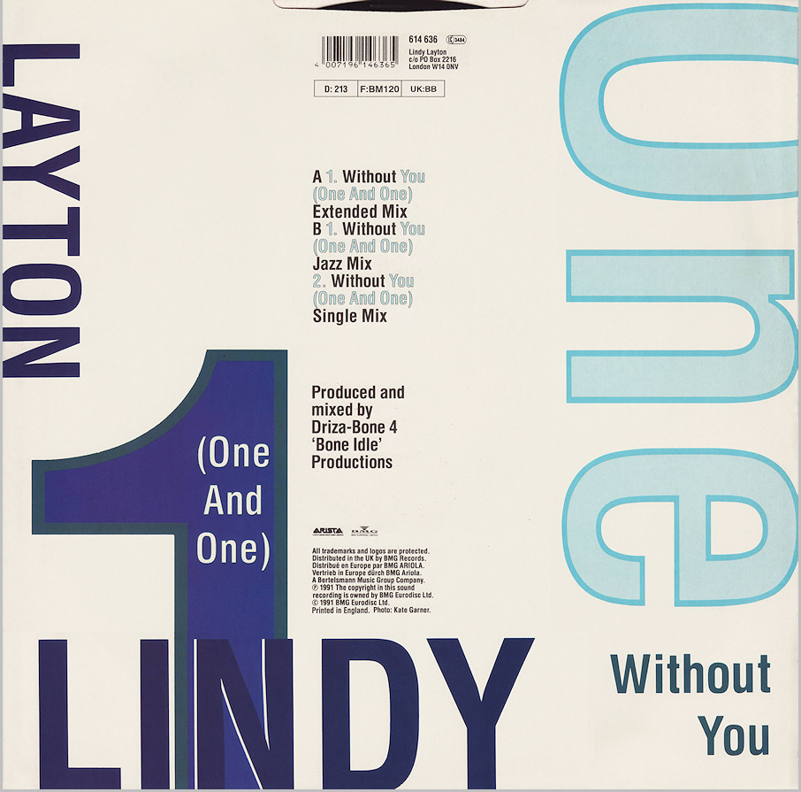 Lindy Layton - Without You