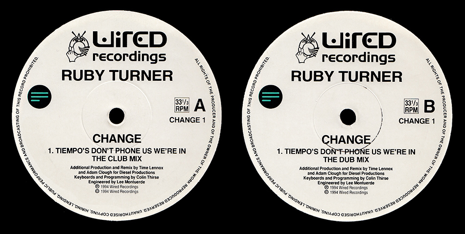 Ruby Turner : Change (T-empo)
