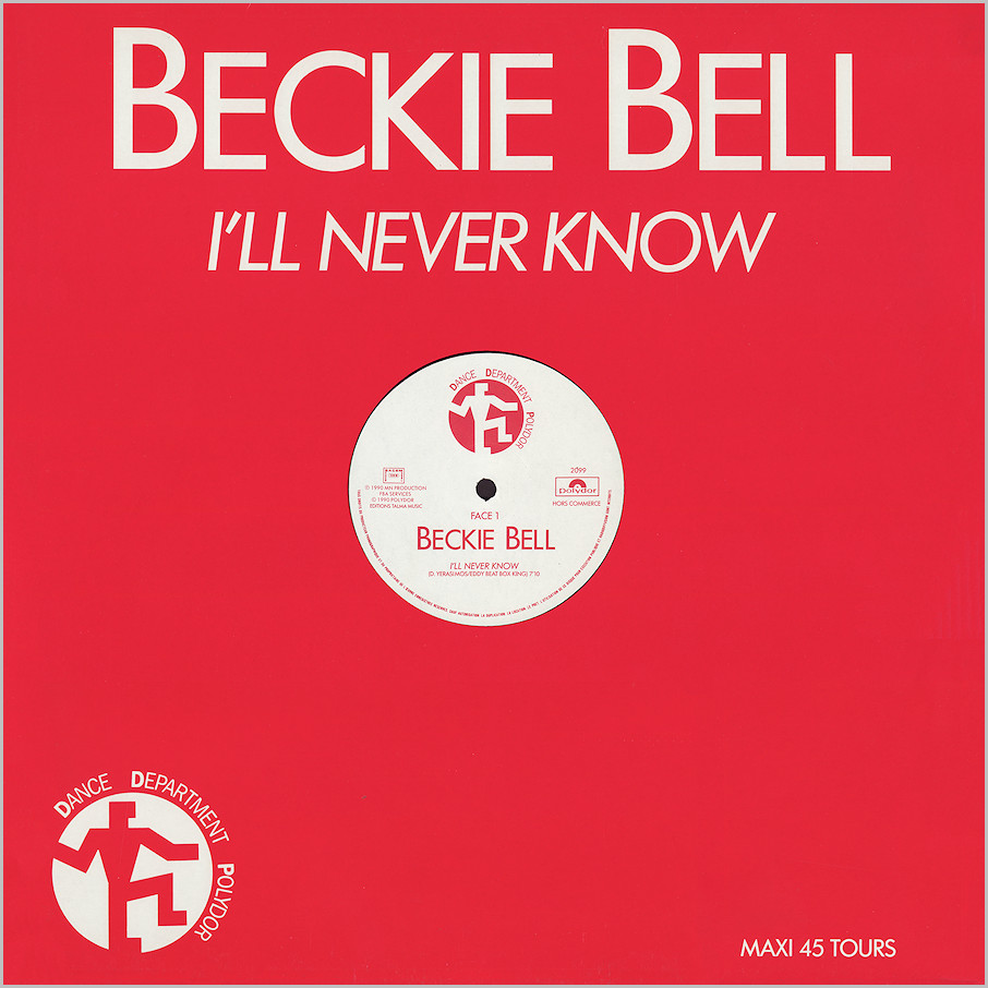 Beckie Bell : I'll Never Know (Dimitri)